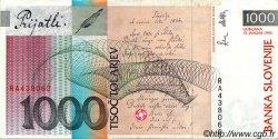 1000 Tolarjev SLOVÉNIE  1992 P.17a TTB+ à SUP