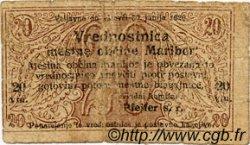 20 Vinarjev SLOVÉNIE  1919 P.-- B