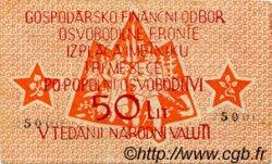 50 Lit SLOVÉNIE  1944 PS.104a TTB
