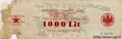 1000 Lit SLOVÉNIE  1944 PS.107 B