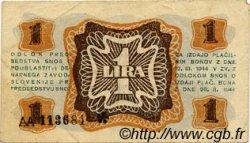 1 Lira SLOVÉNIE  1944 PS.110 pr.TTB
