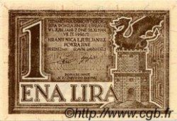 1 Lira SLOVÉNIE  1944 PR.17 NEUF