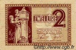 2 Lire SLOVÉNIE Ljubljana 1944 P.R03 pr.NEUF