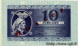 10 Lire SLOVÉNIE  1944 PR.20 NEUF