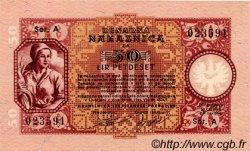 50 Lire SLOVÉNIE Ljubljana 1944 P.R06 NEUF