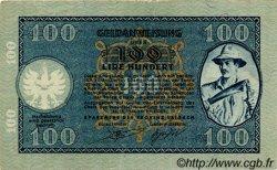 100 Lire SLOVÉNIE  1944 PR.22 SUP