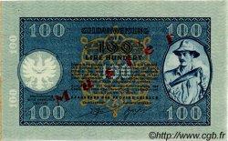 100 Lire SLOVÉNIE  1944 PR.22s NEUF
