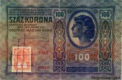 100 Korun TCHÉCOSLOVAQUIE  1919 P.004a TB+