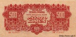 500 Korun TCHÉCOSLOVAQUIE  1944 P.049bs SPL