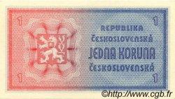 1 Koruna TCHÉCOSLOVAQUIE  1946 P.058a pr.NEUF