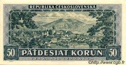 50 Korun TCHÉCOSLOVAQUIE  1948 P.066s pr.NEUF