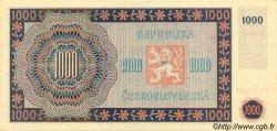 1000 Korun TCHÉCOSLOVAQUIE  1945 P.074s pr.NEUF