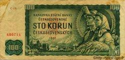 100 Korun TCHÉCOSLOVAQUIE  1961 P.091a TB+