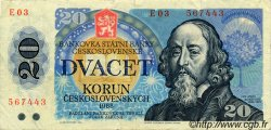 20 Korun TCHÉCOSLOVAQUIE  1988 P.095 TTB+