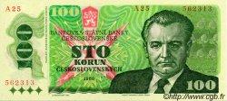 100 Korun TCHÉCOSLOVAQUIE  1989 P.097 NEUF