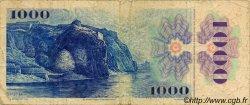 1000 Korun TCHÉCOSLOVAQUIE  1985 P.098 B à TB