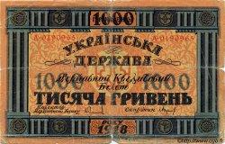 1000 Hryven UKRAINE  1918 P.024 B