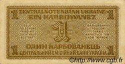 1 Karbowanez UKRAINE  1942 P.049 SUP
