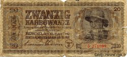 20 Karbowanez UKRAINE  1942 P.053 AB