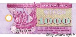 1000 Karbovantsiv UKRAINE  1992 P.091a NEUF