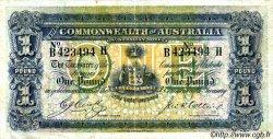 1 Pound AUSTRALIE  1918 P.03b TB à TTB