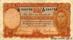 10 Shillings AUSTRALIE  1939 P.25a TB+