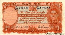 10 Shillings AUSTRALIE  1942 P.25b TTB