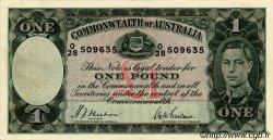 1 Pound AUSTRALIE  1938 P.26a SUP+