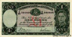 1 Pound AUSTRALIE  1938 P.26a TTB+