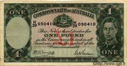 1 Pound AUSTRALIE  1942 P.26b TB à TTB