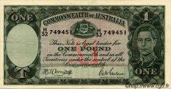 1 Pound AUSTRALIE  1942 P.26b TTB+