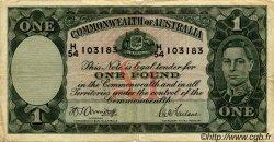 1 Pound AUSTRALIE  1942 P.26b TB