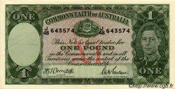 1 Pound AUSTRALIE  1942 P.26b SPL+