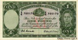 1 Pound AUSTRALIE  1952 P.26d SUP