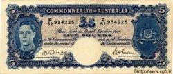 5 Pounds AUSTRALIE  1941 P.27b TTB+