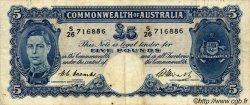 5 Pounds AUSTRALIE  1949 P.27c pr.TTB