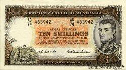 10 Shillings AUSTRALIE  1954 P.29 SUP