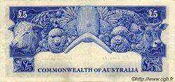 5 Pounds AUSTRALIE  1954 P.31 TTB+