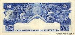 5 Pounds AUSTRALIE  1954 P.31 TTB