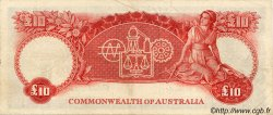 10 Pounds AUSTRALIE  1954 P.32 TTB