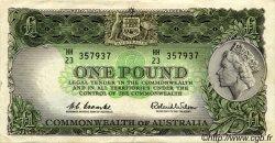 1 Pound AUSTRALIE  1961 P.34 TTB+