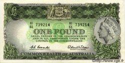 1 Pound AUSTRALIE  1961 P.34 pr.SUP