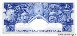 5 Pounds AUSTRALIE  1960 P.35 SPL