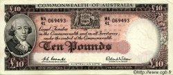 10 Pounds AUSTRALIE  1960 P.36 TTB+ à SUP