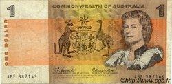 1 Dollar AUSTRALIE  1966 P.37a pr.TB