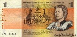 1 Dollar AUSTRALIE  1969 P.37c TTB