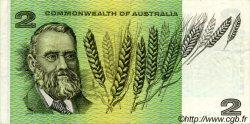 2 Dollars AUSTRALIE  1968 P.38c TTB+