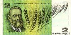 2 Dollars AUSTRALIE  1972 P.38d SUP+