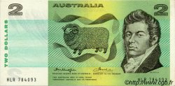 2 Dollars AUSTRALIE  1976 P.43b SPL