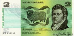 2 Dollars AUSTRALIE  1976 P.43b NEUF
